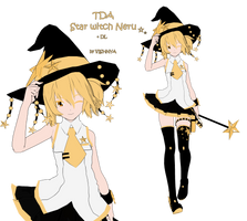 MMD model - TDA Star Witch Neru (DL) by CherryRoseC