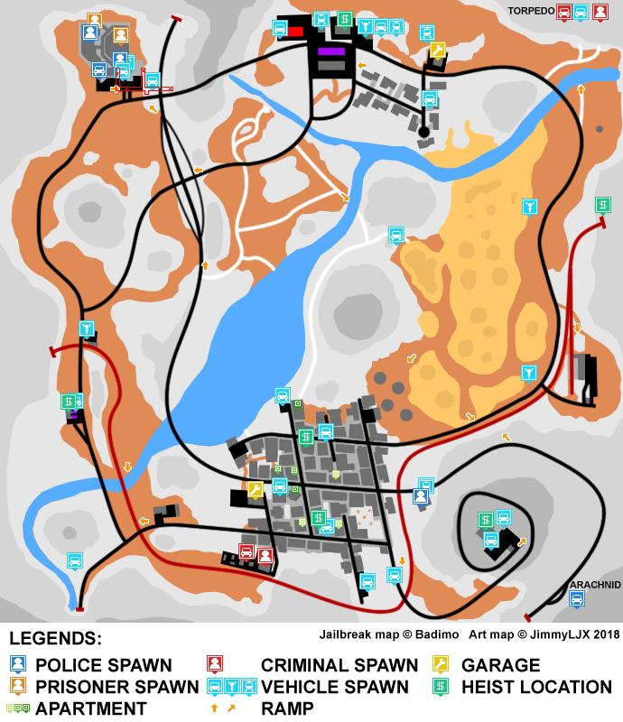 Roblox Jailbreak Map Criminal Base - Wholefed org