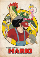 Super Awesome Mario by RobsonG