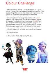 Colour Challenge - Cool Palette by HipnikDragomir