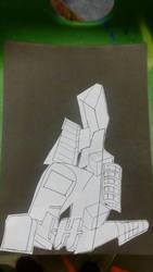 Cityscape Cut out 3  by AdamMuddyfox