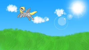 Derpy Wallpaper by MoonGazerThePony