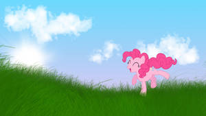 Pinkie Pie Wallpaper by MoonGazerThePony