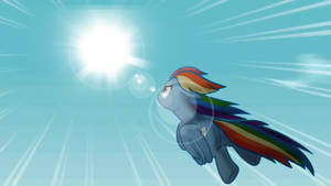 Rainbow Dash Wallpaper by MoonGazerThePony