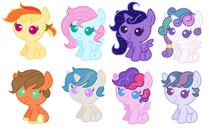 Foal Adopts by MoonGazerThePony