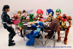 Video Game Feast by AnimatorAR