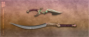 Zaira Blade Concept - I by Aikurisu