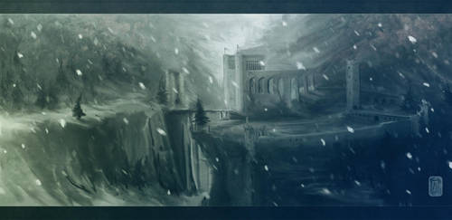 Elsest Fortress by Aikurisu