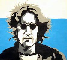 John Lennon by iheartmanga