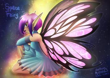 Space Fairy by BethanyAngelstar