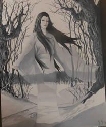 Yuki-Onna by StuSchuckman