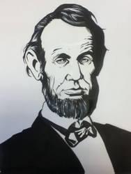 Abraham Lincoln by StuSchuckman