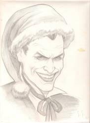 Christmas with the Joker by StuSchuckman