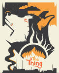 John Carpenter's The Thing by Jurassickevin