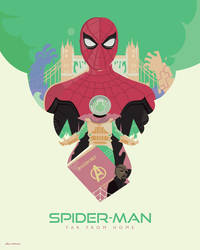 Marvel Studios' Spider-Man: Far From Home Poster by Jurassickevin
