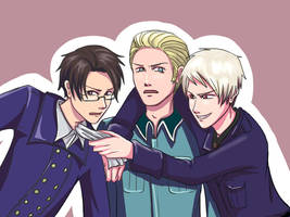 Austria, Germany and Prussia by CHIGII