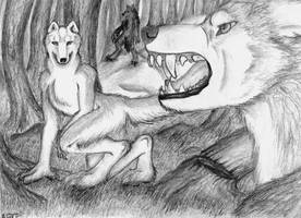 Trio in the Forest by LaJolly