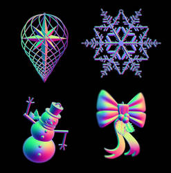 Christmas Ornaments by LaJolly