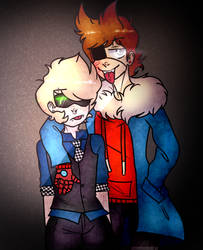 eddsworld wtfuture tomtord by devyskaaa