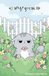 angrycat by Cinnamoron