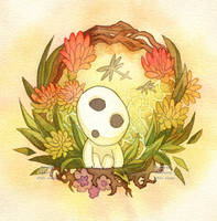 Kodama by Cinnamoron