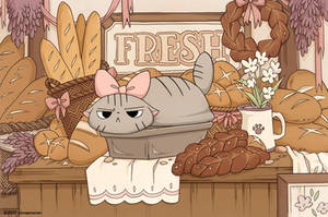 Cat Loaf by Cinnamoron