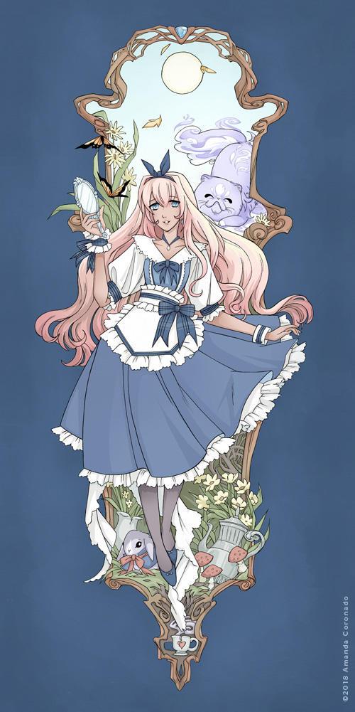 Alice in the Door by Cinnamoron