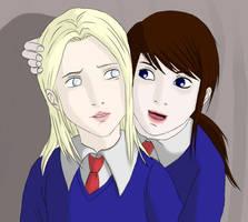 Claudia And Alessa by dementiaz