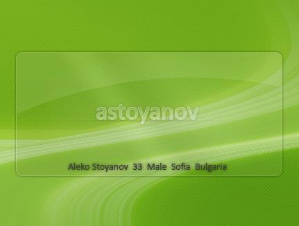 astoyanov's Profile Picture