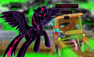 FoE: Pinkie's Last Message by arconius
