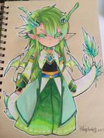 Wind Dragon by shrimpHEBY