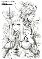 Qi Rui and Qian He by shrimpHEBY