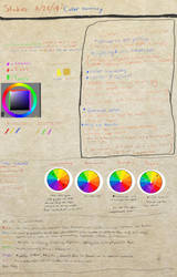 Studies | Color Theory and Harmony by WaywardSeph