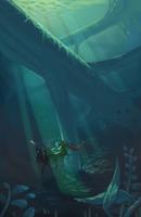 Sunken Giants by Karijinni