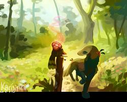 Chance Encounter by Karijinni