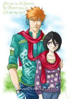 IchiRuki : Autumn Love by noodlemie