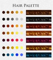 Hair Palette by TemptationBeckons