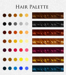 Hair Palette by TemptationBeckons