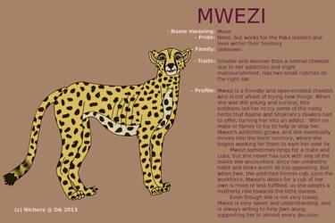 Character sheet - MWEZI by Nichers