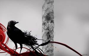 Crow by cutliponcrackpipe