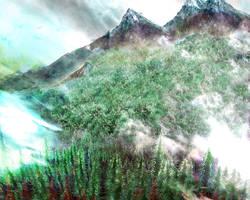 Canadian Rockies by rabbitica