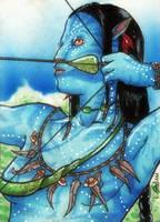 Na'vi taronyu- the hunter by GuiltyOne