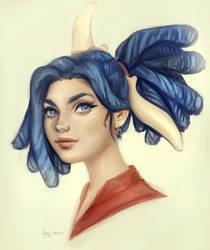 Kya by Mardigitalart