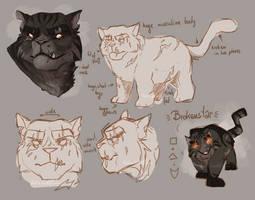 Character Design: Brokenstar by K0rdi4n