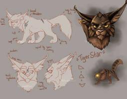 Character Design: Tigerstar by K0rdi4n