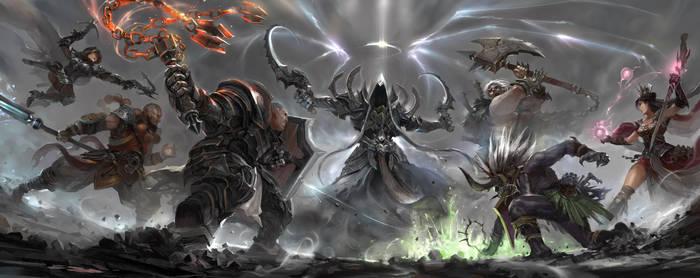 DiabloIII Reaper  of Souls Hero nightclub by ro733
