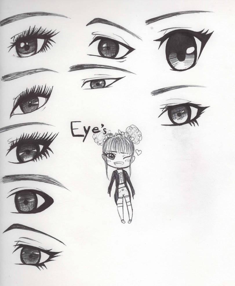 9 Ways To Draw Eyes By Toppkl
