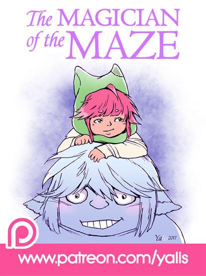 Magician-of-the-maze-patreon-yalis by YaLis