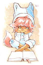 Tail-fox-boy by YaLis