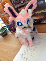 Sylveon Crochet! by Robezpierre